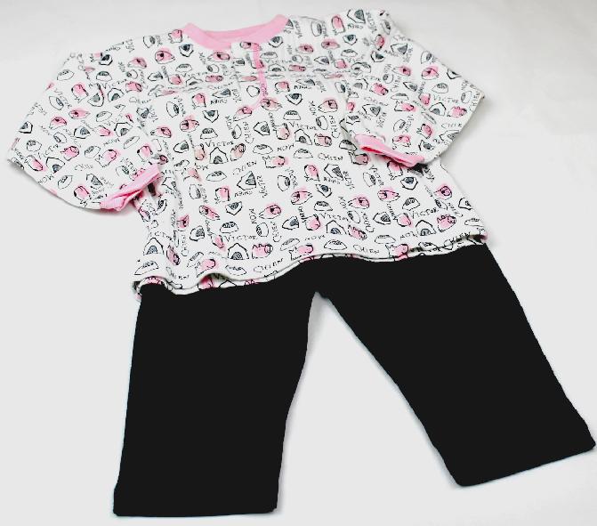 Kanz 2tlg Schlafanzug M/ädchen Baby